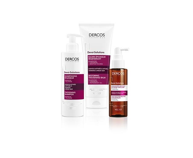 דסני סולושנס - שמפו מעבה לטיפול בשיער דליל וחלש